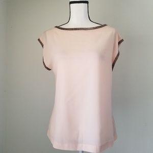 Kenar light pink embellished blouse Size S